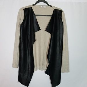 Zara Knit Open Cardigan Size Medium
